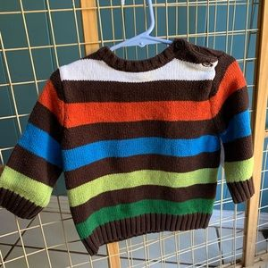 Children's Place 12 months Fall Striped Sweater